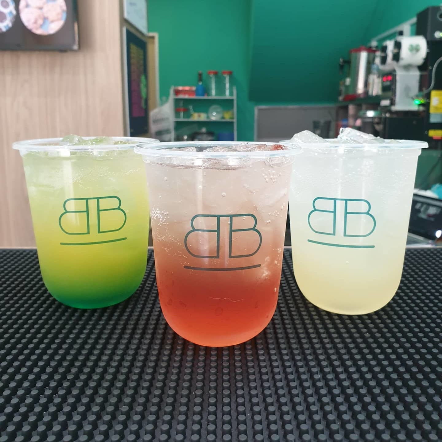 2 x Any Mocktails (Standard size) with Popping Boba