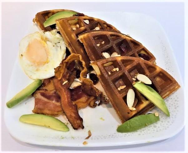 1 x Bacon & Egg Waffle