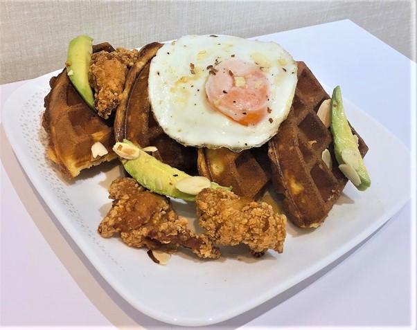 1 x Chicken & Egg Waffle