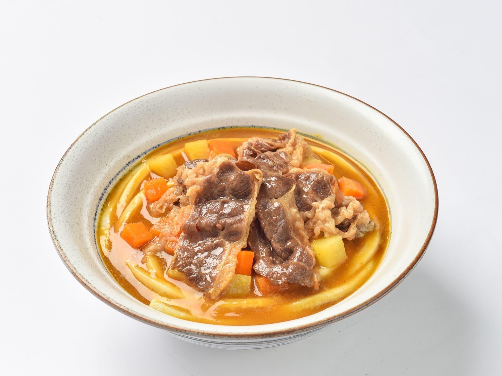 1 x Beef Curry Udon or Donburi + Ebi Tempura + Barley Drink