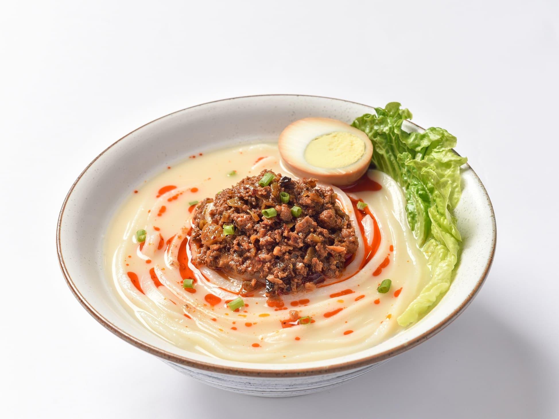 1 x Spicy Pork Udon + Ebi Tempura + Barley Drink [Exclusive Deal]