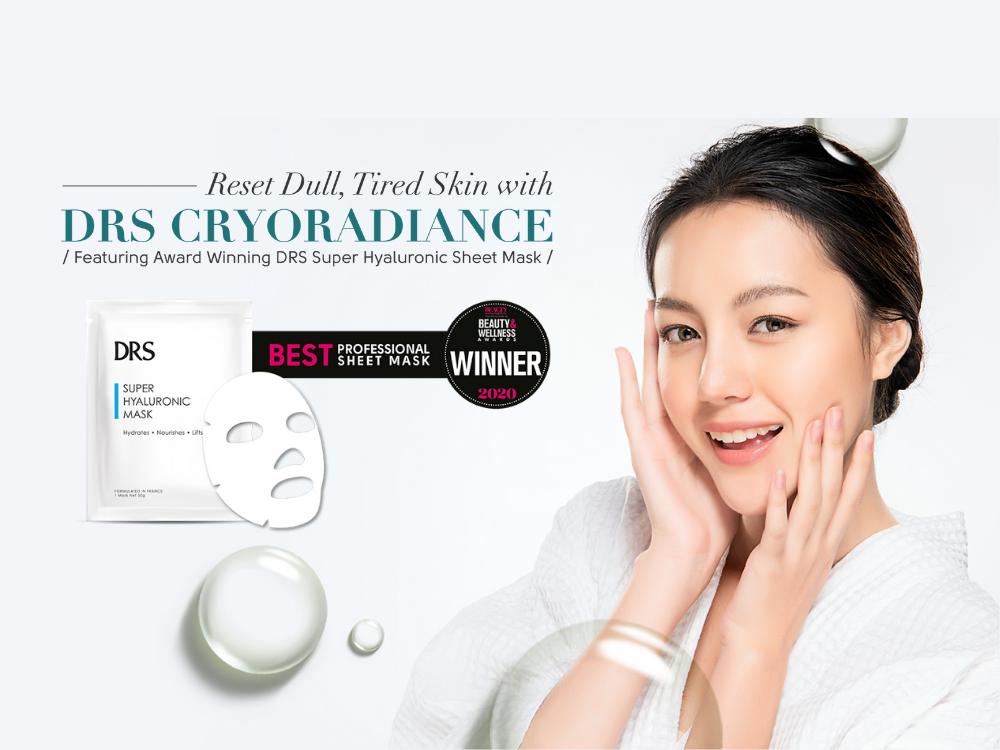 DRS CryoRadiance Facial (75 mins)