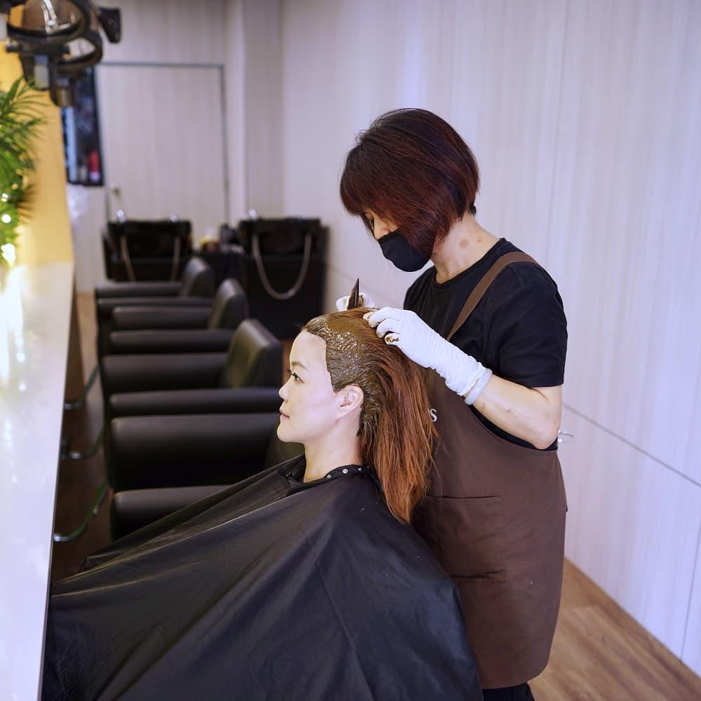 90min 7 Step Customized Herbal Scalp Treatment