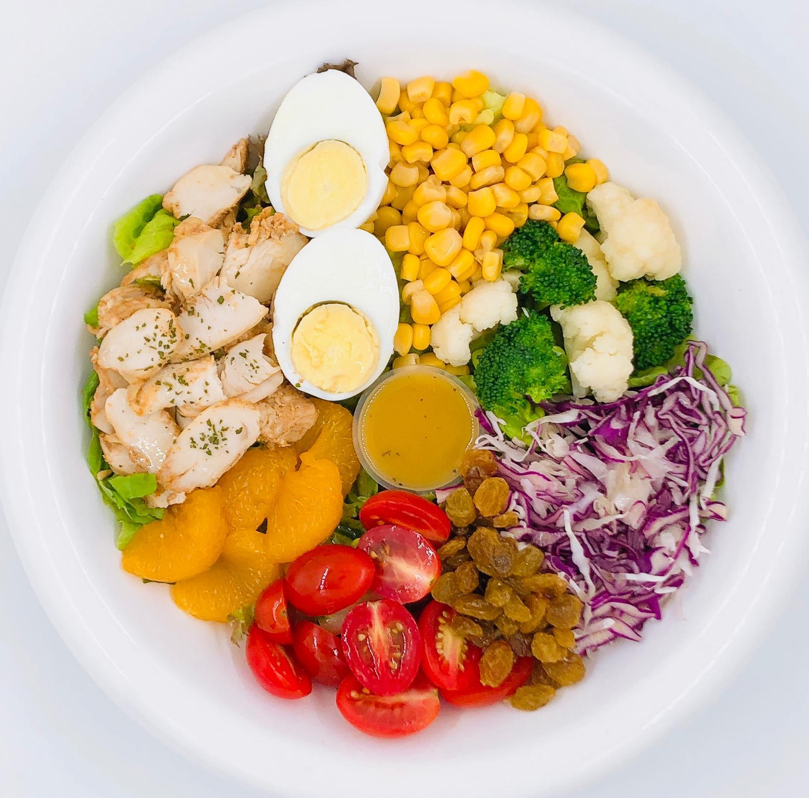 1 x BBQ Chicken Salad