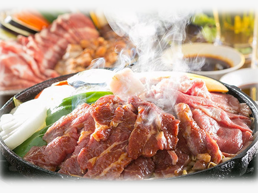 1 x All You Can Eat Hokkaido Style Fresh Lamb BBQ