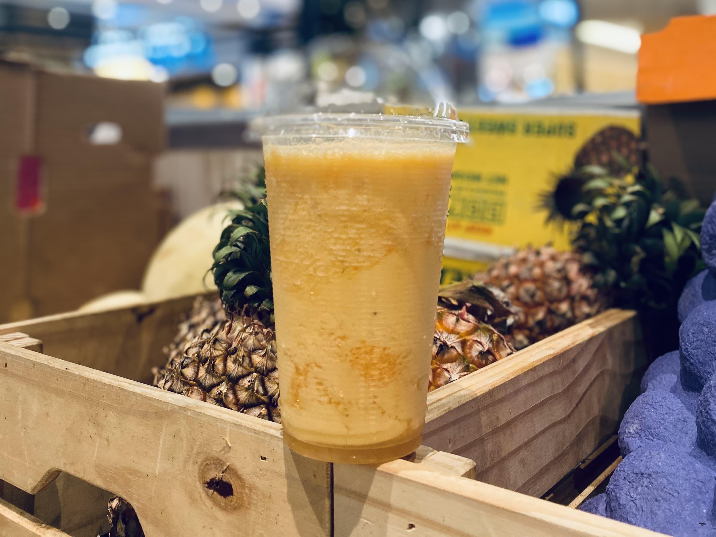 1 x Hawaiian Paradise (Pineapple, Mango, Orange, Banana, Yoghurt)