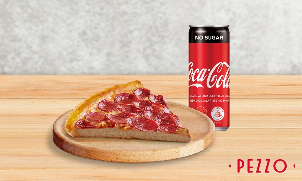 1 x Any Classic Slice Of Pizza Set (Choose from 7 Flavours) [Exclusive Deal]