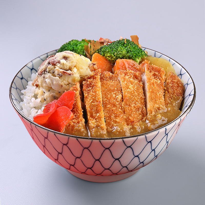 1 x Japanese Curry Fried Pork Cutlet Donburi (Hot Shot) [Exclusive Deal]