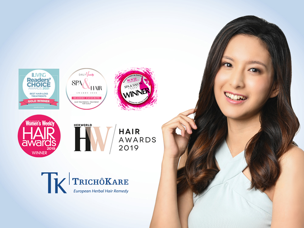 Award winning 7 Step Hair and Scalp Treatment for 1 Person
