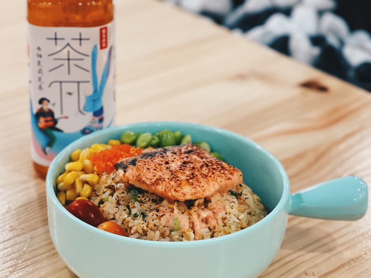 1 x Mentaiko Salmon Fried Rice with Drink Set [Exclusive Deal]