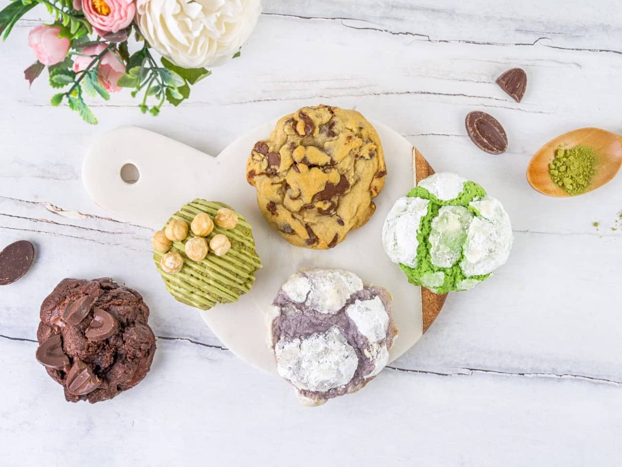 1 x Chubby Cookies (3 pcs)