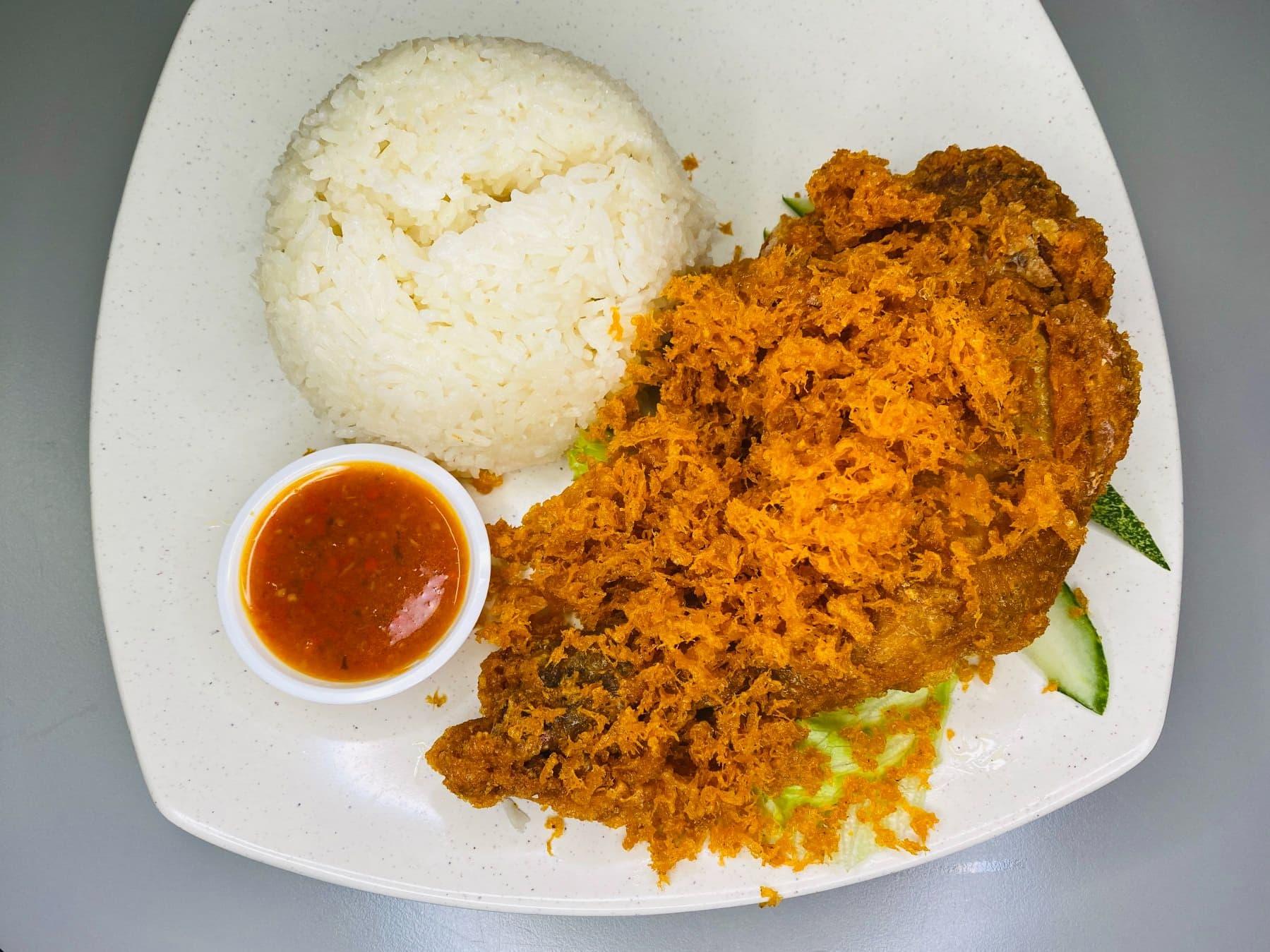 1 x Nasi Ayam Boomeranz (Original)