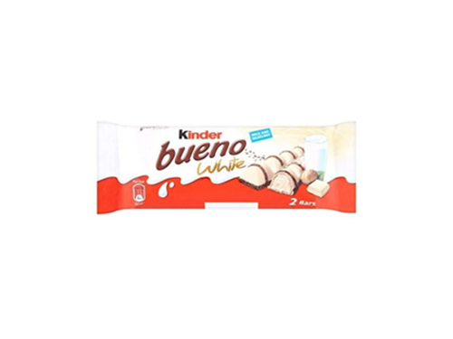 1 x Kinder Bueno White T2 43g [Limited Stock]