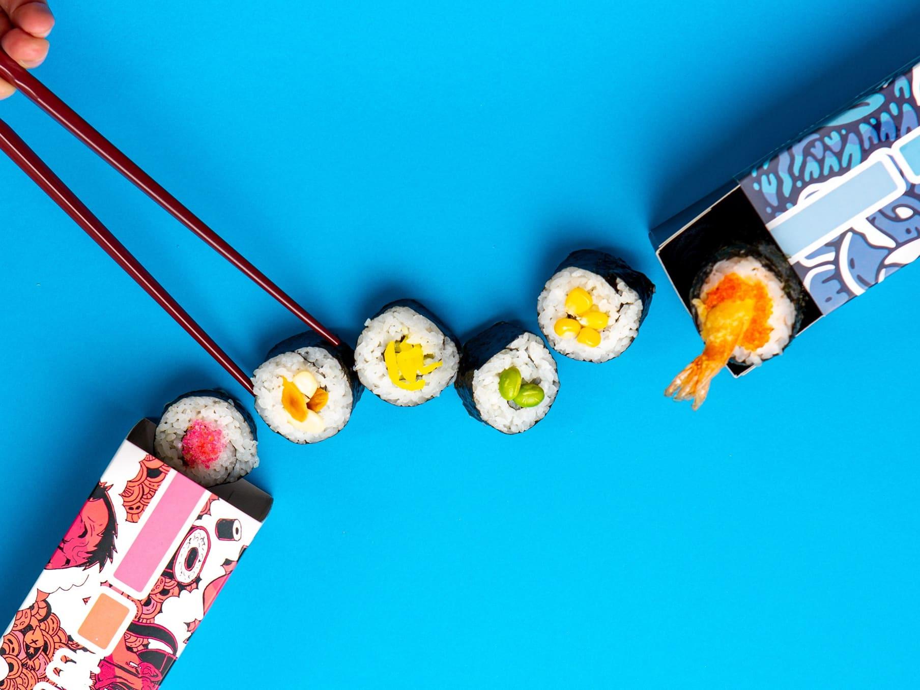 1 x Wooshi Sushi Roll [Limited Stock]