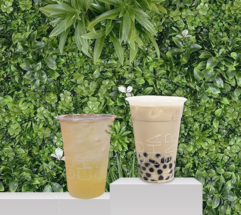 1 x Green Milk Tea with Pearl