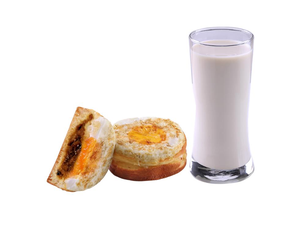 1 x New Honey BBQ Chicken Eggwich + Classic Soya Milk [Limited Stock]