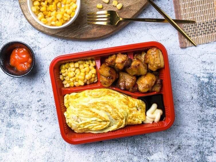 2 x Omelette Rice