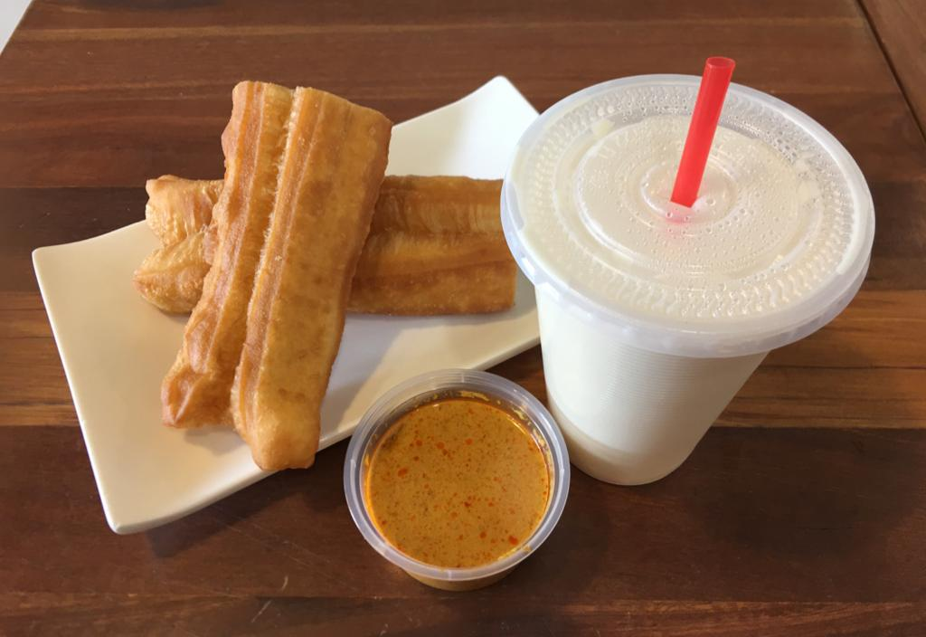 1 x Youtiao and Soy Milk