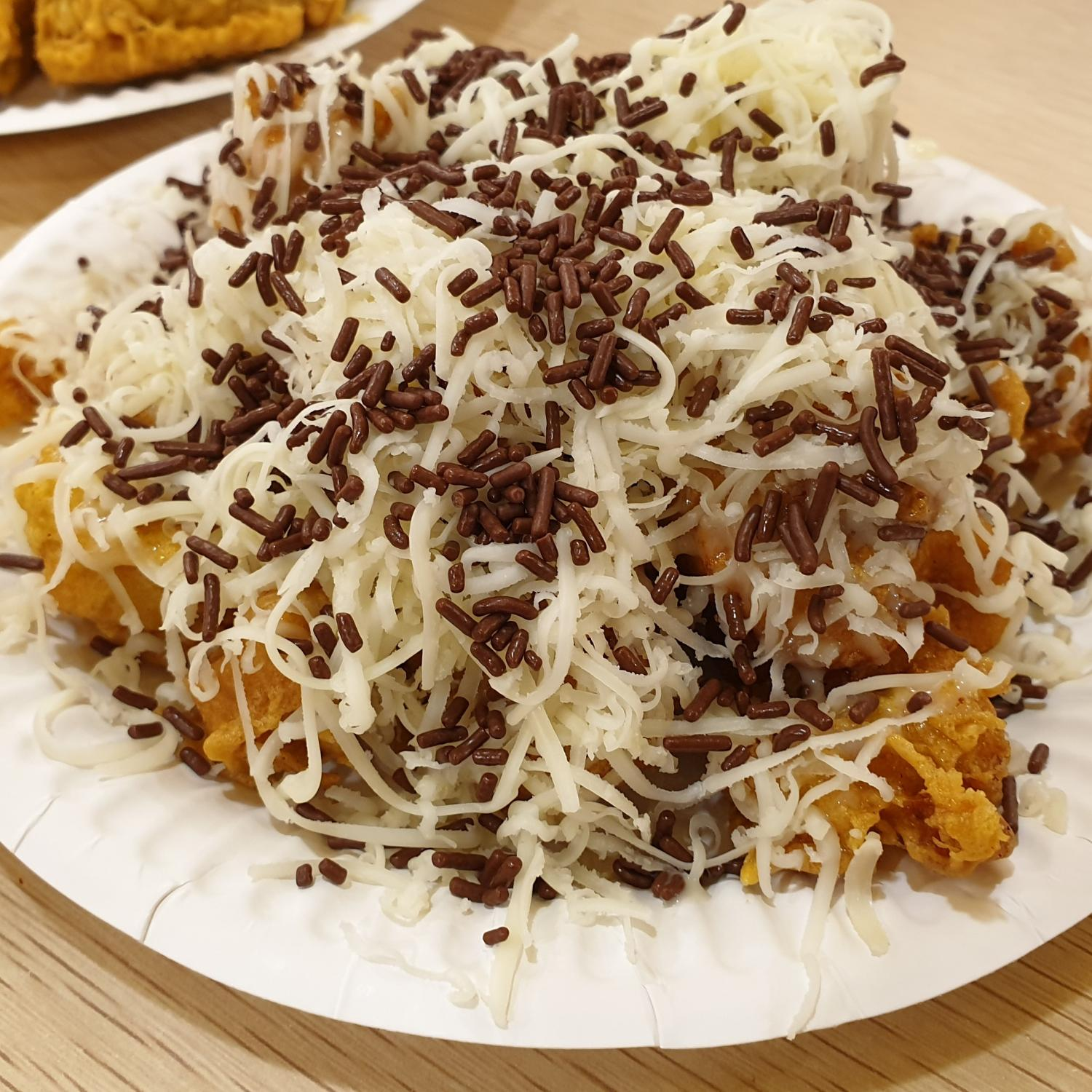 1 x Pisang Nugget Chocolate Cheese