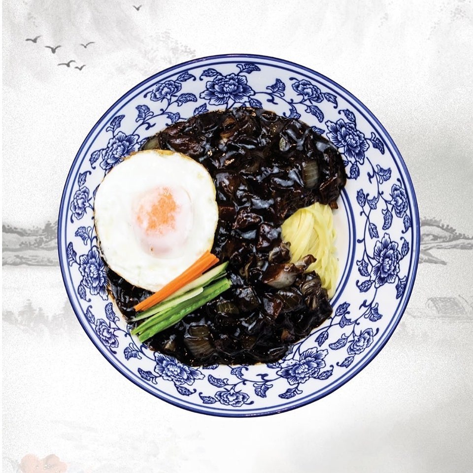 1 x Black Bean Noodles with Cooked Egg at Zhang Chef Restaurant - Get Deals, Cashback and Rewards with ShopBack GO