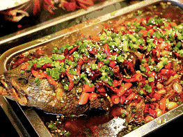 1 x Hot and Spicy Flavour Charcoal Fish for 2 pax