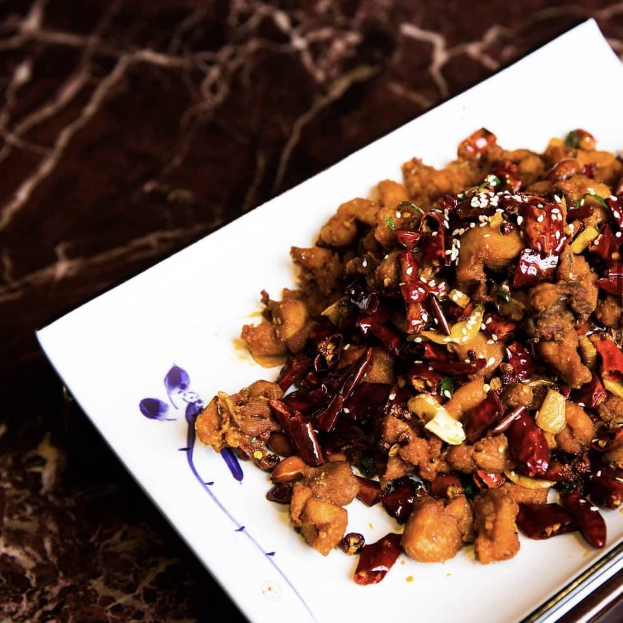 1 x Dried Fried Chilli Chicken