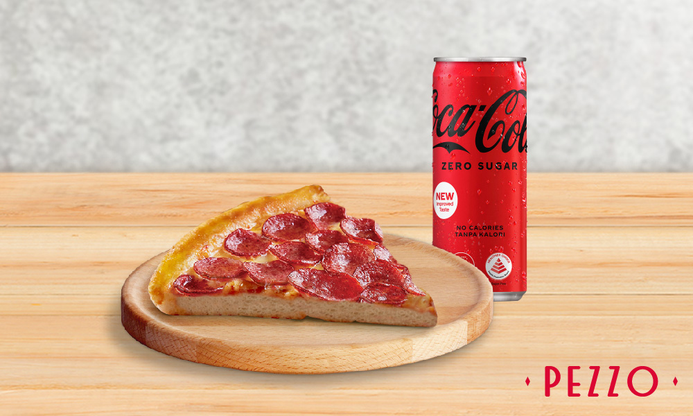 1 x Any Classic Slice Of Pizza Set (Choose from 7 Flavours)