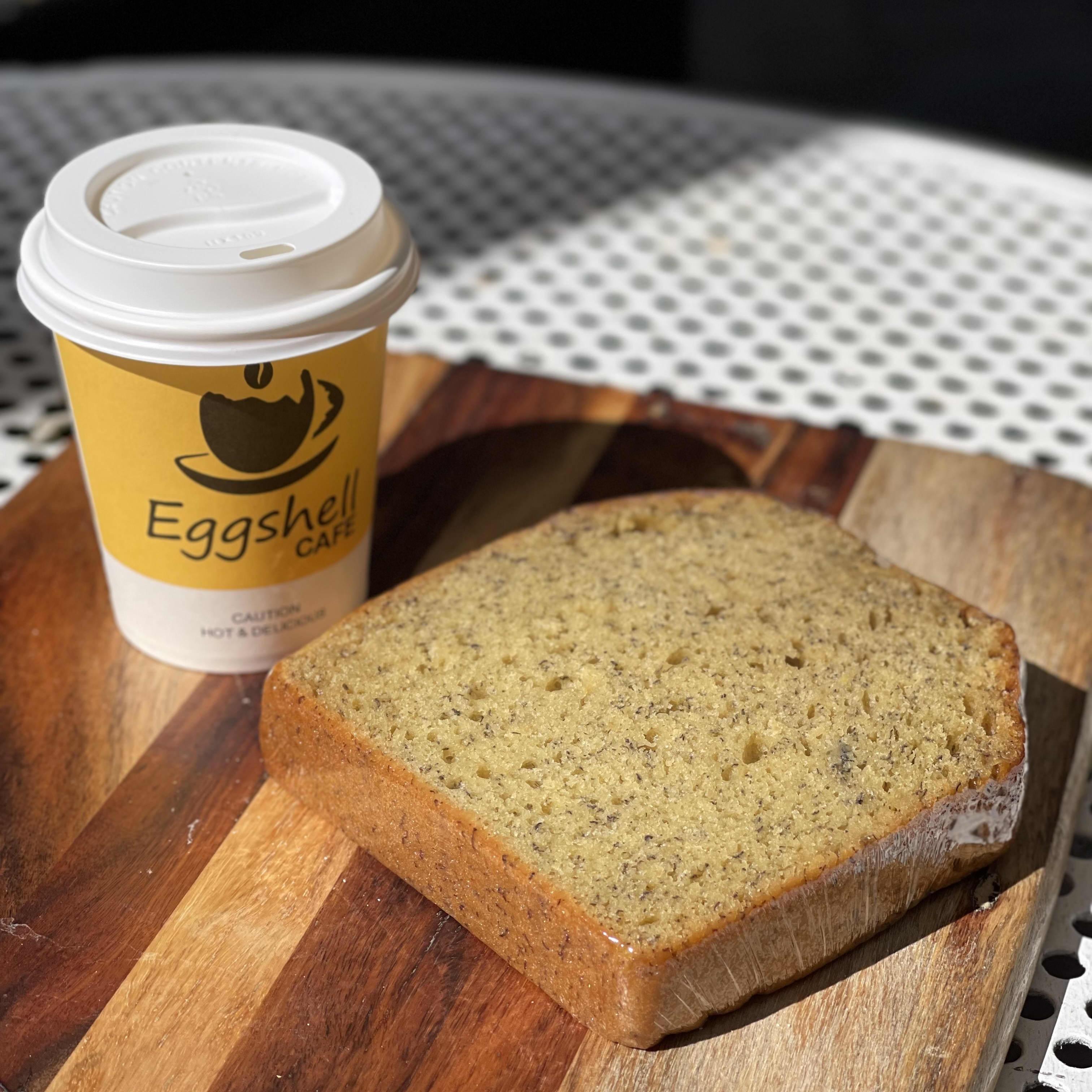 1 x Large Coffee + Banana Bread Combo