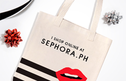 Get a FREE Limited edition Tote Bag when your shop on Sephora.PH
