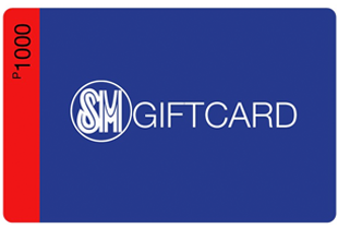 Get Cashback on SM Giftcards for you or friends