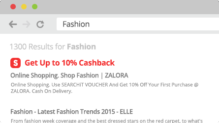 ShopBack Cashback Buddy - Search engine notifier
