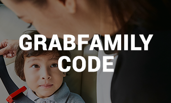 $2 surcharge waiver for GrabFamily ride!