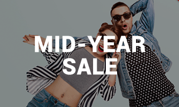 Mid-Year Sale: Up to 50% off!