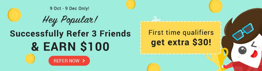 Refer A Friend: Invite 3 Friends, Earn $100!