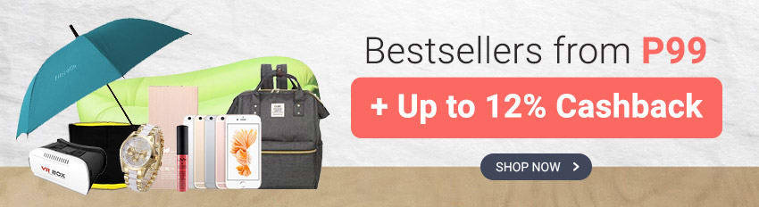 Bestsellers from P99 and get Cashback (Lazada, ZALORA, Althea & more)