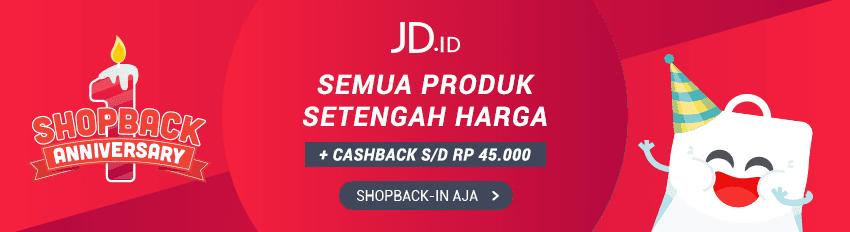 Promo Setengah Harga JD.ID
