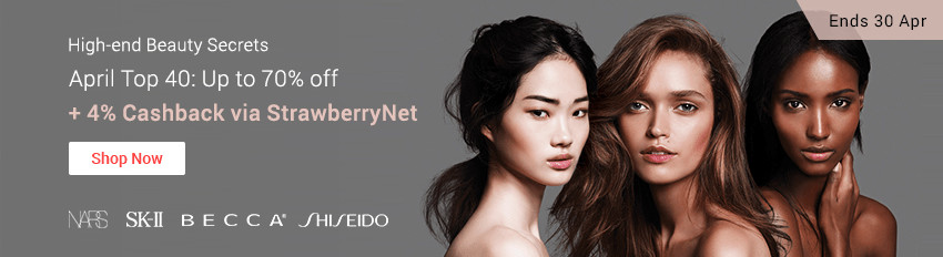 Ends 30 Apr | Get StrawberryNet's Top 40 up to 70% off + 4% Cashback