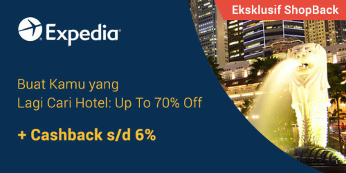 Promo Eksklusif Expedia x ShopBack