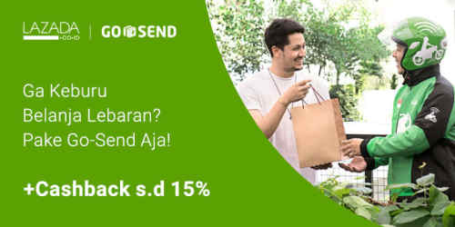 Promo Lazada by Go-Send