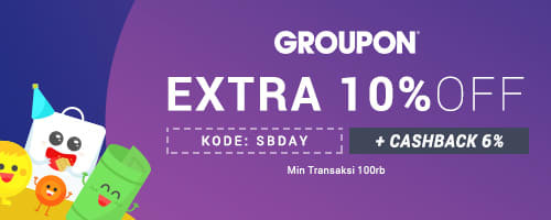 Groupon ID Exclusive ShopBack Promo