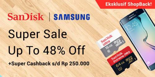 Lazada Samsung Super Cashback