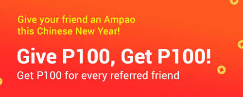 Refer a friend and Get P100