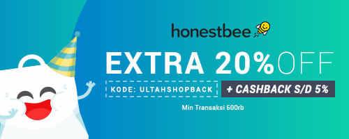 Honestbee ID Exclusive Promo ShopBack