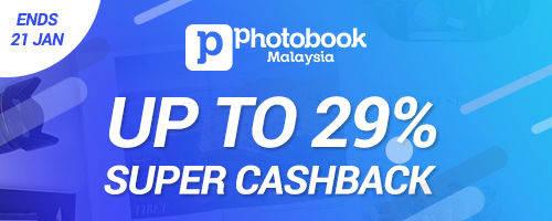 Photobook Super Cashback