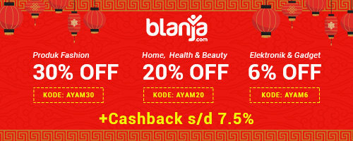 Blanja.com Chinese New Year 2017