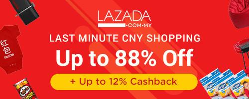 Lazada Last Minute CNY Shopping