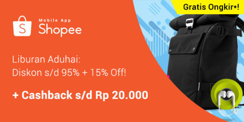 Shopee 15% Off June