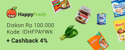 Promo HappyFresh April Payday