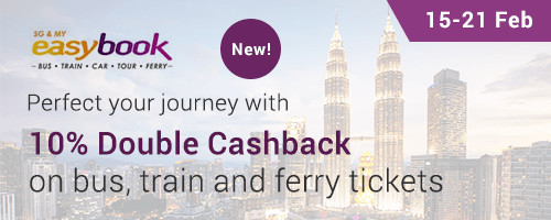 NEW: Easybook 10% Upsized Cashback!