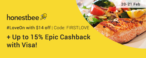 honestbee Sale: $14 off with code + Up to 15% Cashback with Visa!